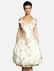 Kamera Obscura Robe Ballet Fleurs Couture Dress