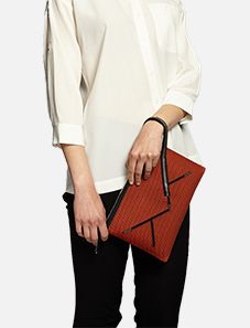 Kamera-Obscura-Courrier-Spatial-Clutch-Bag